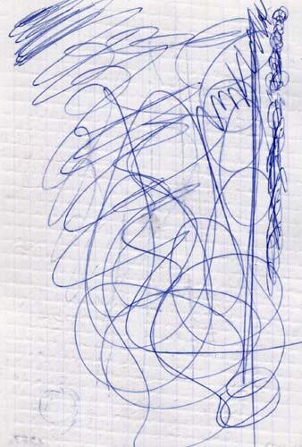 Шариковая ручка поворотная Index IMWT1137/BK/бшк синий 0.5 мм  IMWT1137/BK/бшк